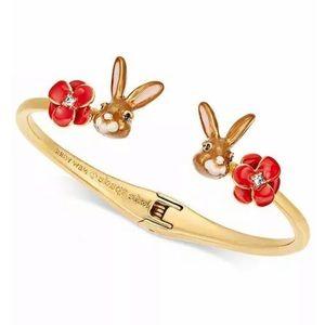 KATE SPADE Desert Muse Bunny Rabbit Cuff Bracelet